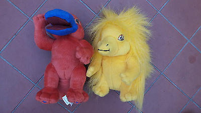 Sydney 2000 Olympic Games Mascots Syd the Platypus & Milly Echidna Plush 18 cm