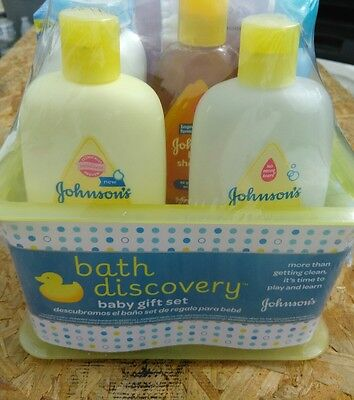 Johnson's Baby Bathtime Gift Set 7 Pcs  ***unisex***