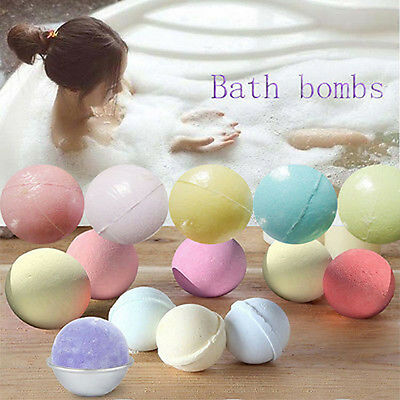 Natural Bubble Shower Essential Oil lavender Fragrance 40g Bath Salt Bombs New