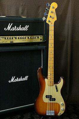 80s Fernandes RPB-70 Precision Bass Violin Finish GOLD Anodized PG Made in Japan