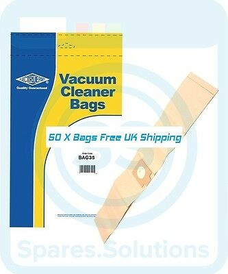 50x Dust Bags for Electrolux Z920, 921, 922, 923, 925, 930, 945, Hz173, E22