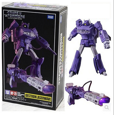Transformers master mp-29 shock-wave G1 with luminous toys NEW
