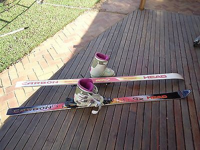 snow skis & boots downhill skis & boots