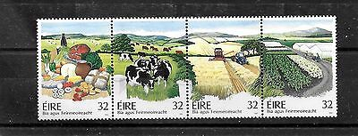 Ireland, MNH 1992 Food and Farming, strip of 4 stamps