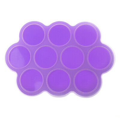 BPA Free Silicone Baby Food Storage Freezer Containers with Clip-on Lid
