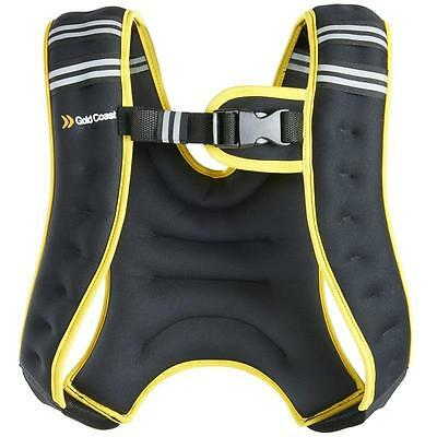 5Kg Adjustable Weight Vest EXERCISE WORKOUT Suit Gym Fitness Training Crossfit