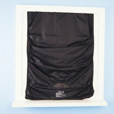KooDi PackIt Blackout Fabric Bedtime Window Blind Travel Accessory With Pouch