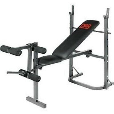 Free weights and pro power bench