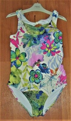 GIRLS NEXT SWIMMING COSTUME  AGE 11-12 YEARS, Tropical Floral one piece