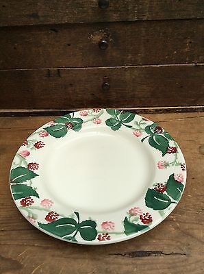 "Emma Bridgewater Wiveton Hall Raspberry  8.5"" Plate - new 1st"