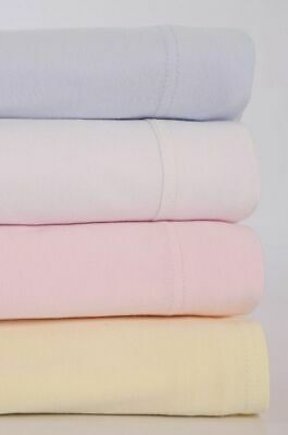 2 Pack Soft Jersey Cotton Crib/Cot/Moses Basket/Bassinette Fitted Sheets 30x74cm