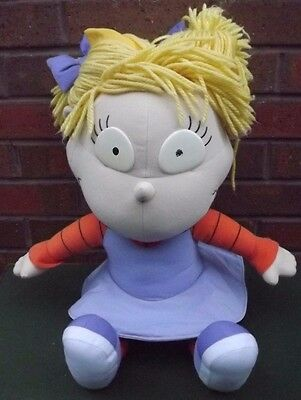 Angelica Rugrats Nickelodeon Super Rare Huge 25'' Tall Plush From Mattel 1997