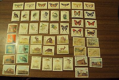 Angola Stamps 10 Complete Sets Mnh