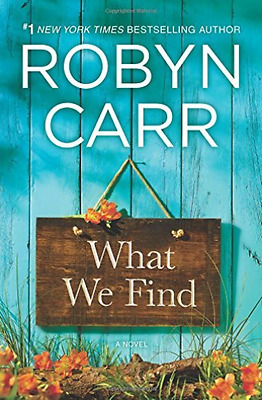 Carr Robyn-What We Find  (US IMPORT)  HBOOK NEW