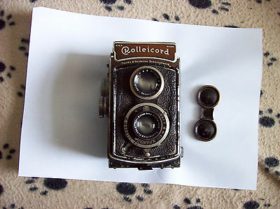 Rolleicord 1A 1936-1947 vintage camera