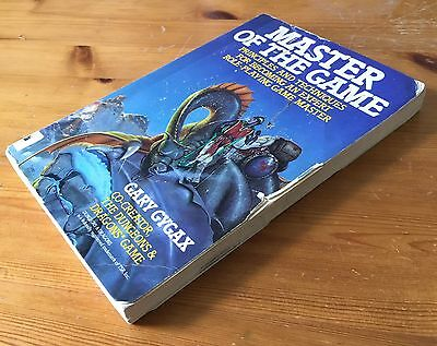 MASTER OF THE GAME - Gary Gygax - Putnam / Perigee - READING COPY - D&D