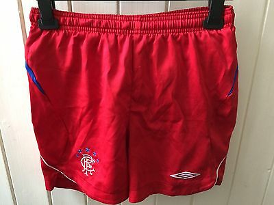 Glasgow Rangers Shorts - YL - Red
