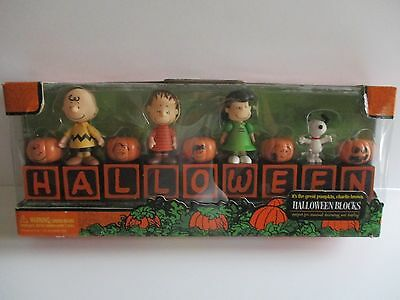 Peanuts Halloween Blocks  It's The Great Pumpkin Charlie Brown  Forever Fun