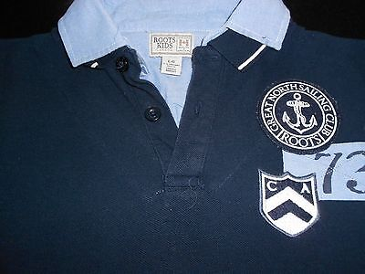 Boys Polo Shirt from Roots Canada Size L (9-10YRS)