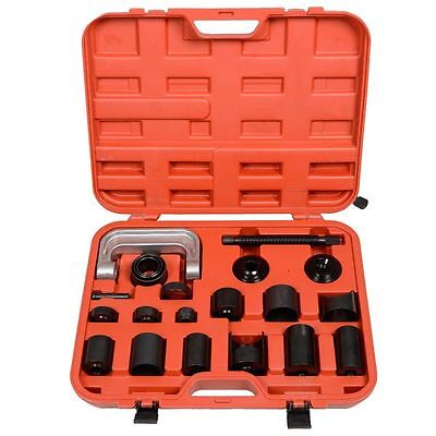 21 pc Universal Press Fit Upper Lower Ball Joint 4WD Adapter Install Removal Kit