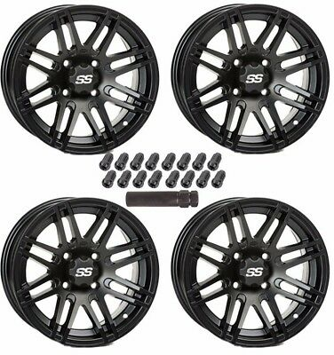 Itp Ss316 Black Ops 14 Wheels Polaris Ranger Xp 900 1000 General