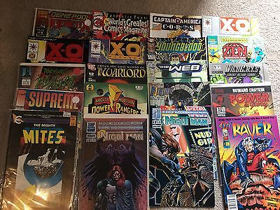 Job lot Marvel and DC Comics 210 In Total Will Sell Individuals Or Job Lot
