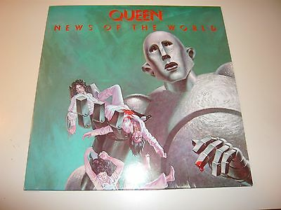 Queen News Of The World LP Vinyl Record Album We Will Rock You Are Champions