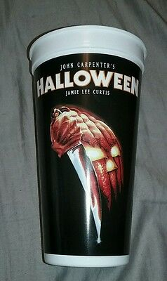 RARE! Halloween movie Promotional Cup John Carpenter - New never used