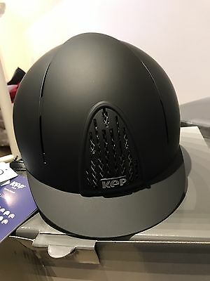 """Kep Riding Hat Black """"smart"""" Size 61cm (other Liners Available)"""