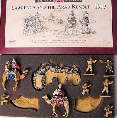 Britains LAWRENCE AND THE ARAB REVOLT Metal Soldier Set Ltd Edition, Boxed (3037