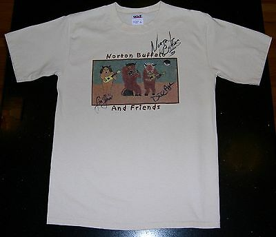 Norton Buffalo and Friends SIGNED T-Shirt - Small