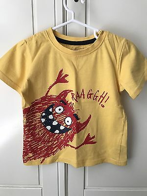 Boys Monster T-Shirt Age 2-3