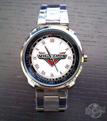 Victory motorcycle Emblem Watches