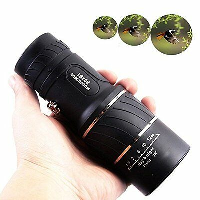 Day And Binoculars & Scopes Night Vision 16x52 Optical Monocular Hunting Camping