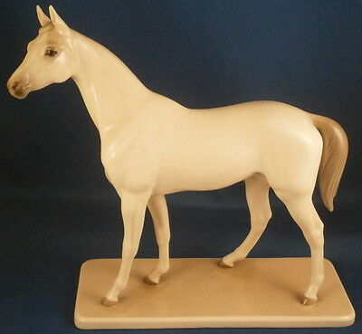 Nymphenburg Porcelain Arabian Horse Figure Figurine Porzellan Figur Stallion