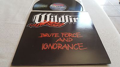 Wildfire ‎– Brute Force And Ignorance 1983 NWOBHM ON MAUSOLEUM REC. M-/EX+