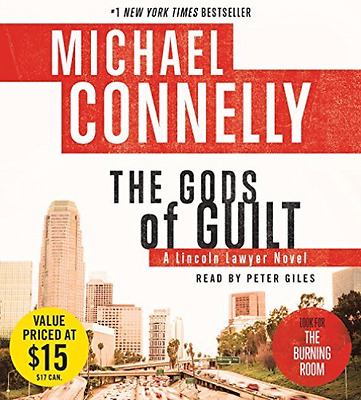 Connelly, Michael/ Giles, P...-The Gods Of Guilt  (US IMPORT)  CD NEW