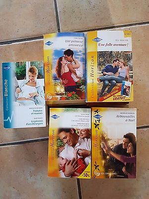 lot 20 livres harlequin collection horizon