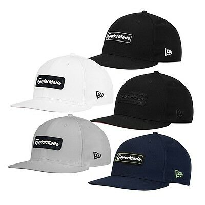 Taylormade New Era 9Fifty Black snapback hat BLOWOUT. Last In Stock
