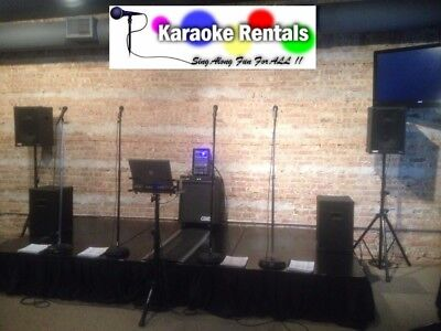 DJ Disc Jockey and KJ Karaoke Service, Sales and Rentals Business Is Up For Sale