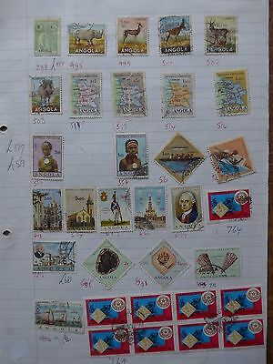 Angola - Various Stamps
