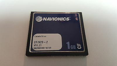 NAVIONICS CF/92S-2 CANADA SILVER ALL IN ONE GPS Data Card