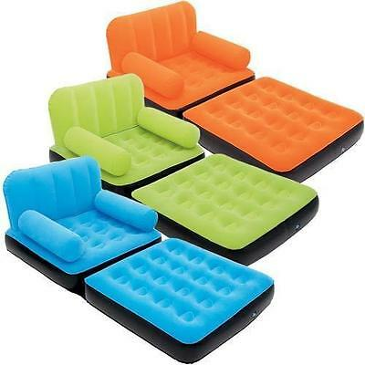 Bestway Inflatable Single Air Bed Couch/sofa Bed Mattress Lounger In 3 Colours