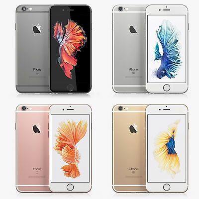 """Apple Iphone 6S 16GB~64GB~128GB """"Factory Unlocked"""" Smartphone All colors 4G Lte"""