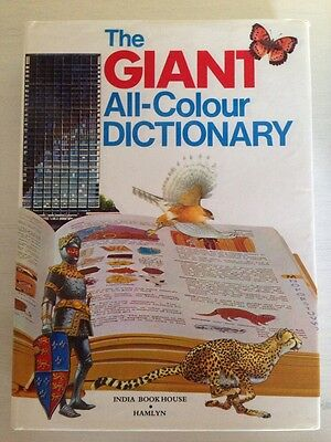 Children's Hardback Giant All Colour Dictionary