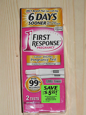 2 x First Response Digital Ultra Early  Result Pregnancy Tests Urine Testing