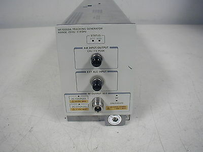 Hp 70300A Tracking Generator