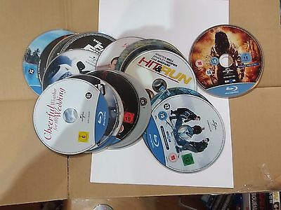 Blu Rays Just Discs U Choose (new)Disc only Free postage