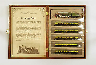 N Scale Model Power Box Collector Set, Evening Star