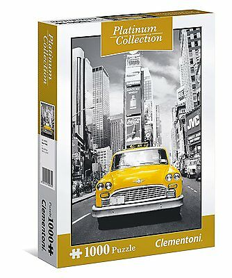 Clementoni 39398 Puzzle 1000 Pezzi Platinum Collection New York